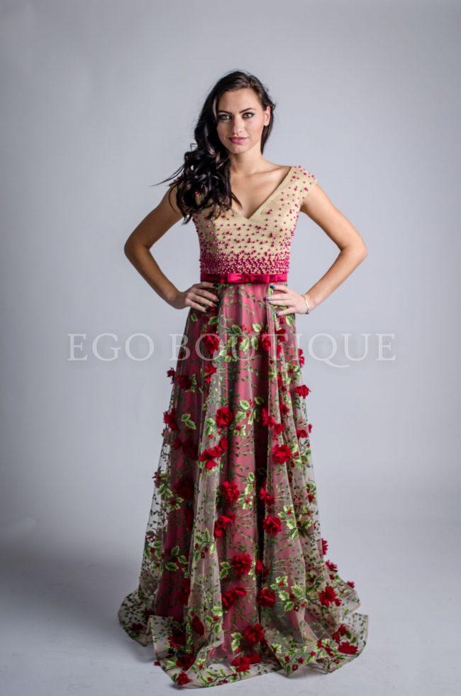 бална ексклузивна рокля
